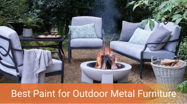 Best Paint For Outdoor Metal Furniture, What Is The Best Paint For Outdoor Metal Furniture